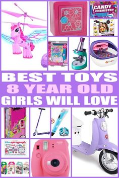 Best Gifts For 8 Year Old Girls In 2017 Great Gifts And