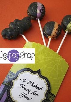 Le Pop, Black Bat, Macarons, Wicked, Treats, The Originals, Cake, Desserts, Shopping