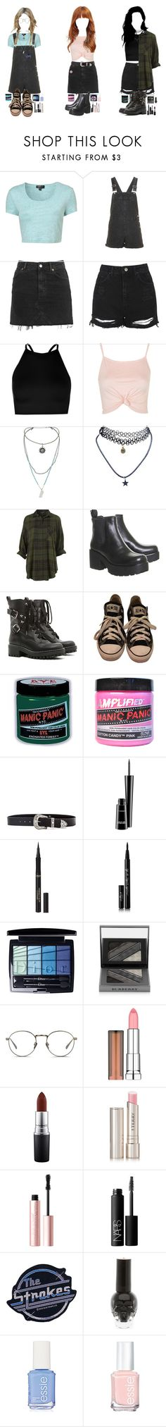 """sugar, spice, and everything nice (9/11)"" by alicemsrose ❤ liked on Polyvore featuring Topshop, Boohoo, Wet Seal, RED Valentino, Converse, Manic Panic NYC, B-Low the Belt, MAC Cosmetics, L'Oréal Paris and Eyeko"