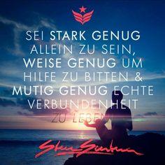 ...sei stark genug....❤❤❗