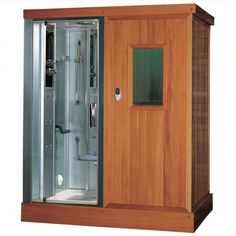 The Difference Between a Sauna & a Steam Room | Both saunas and steam showers offer health benefits and help a person relax from the day's troubles. If you think you would be happier with both options in your bathroom, don't forget to check out combo steam showers.