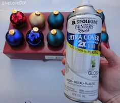 Make a new color scheme this year with just a can of paint!