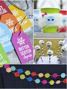 Bird's Party Blog: Bumble Winter Bash: A Yeti Inspired Playdate !!