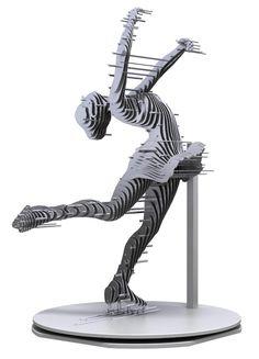 Sliced Metal Sculptures (11)
