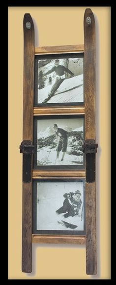 Awesome picture frame. Maybe water skis!! So fun!