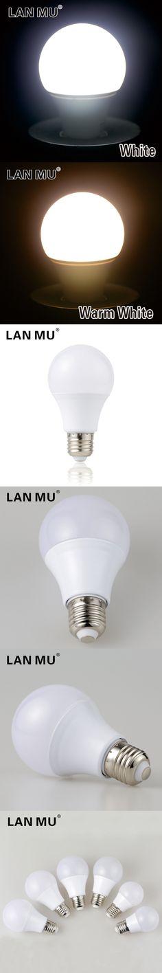 LED Lamp E27 220V 230V LED Bulb SMD2835 led Light bulb Real power 3W 5W 7W 9W 12W 15W Cold Warm White Lampada Led Bombillas