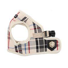 Puppia Junior Harness B, X-Large, Beige -- More info @