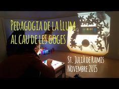 Pedagogia de la llum al Cau de les Goges - YouTube Reggio Emilia, Shadows, Homeschooling, Glow, Babe, School, Light And Shadow, Shades, Mesas De Luz