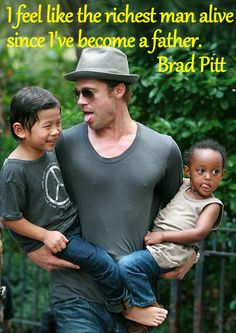 Brad Pitt y Angelina Jolie familia supernumerosa Brad Pitt And Angelina Jolie, Jolie Pitt, Jennifer Aniston, Jude Law Style, Brad Pitt Kids, Parenthood Quotes, Becoming A Father, Royal Babies, Cute Celebrities