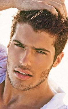 Male model Jeff Brand is really hot but it if the guy is prettier than u it's a bad relationship ( @ellamaas)