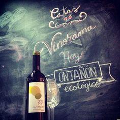 Cata de vino Ontañon ecológico en vinorama.es