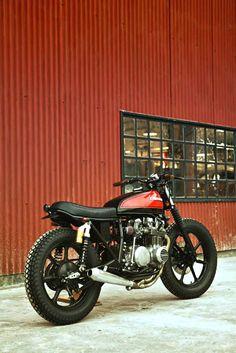 KZ650 by Herencia Custom Garage (via Inazuma Café Racer)