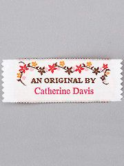 How to personalize or Brand your crafts and handiwork with personalized labels