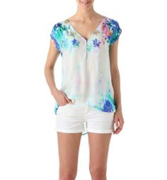 Floral top multicoloured - Promod