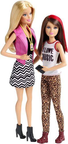 Barbie Sister Fun Day Barbie & Skipper 2 Pack Set Concert CGF36
