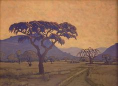Evening Bushveld / Pierneef, JH