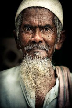 Street Portrait, Old Delhi, India by ian mylam