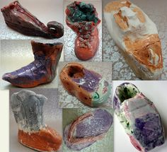 Journey Shoes - Ms. Kuster's 4th Grade Art Classes, Carlsbad, NM  #newmexicostatefair