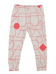 Tobias & The Bear, Coral square and the gang leggings months - 5 years) Baby Leggings, Cotton Leggings, Leggings Tops, Tobias, Toddler Fashion, 6 Months, Pajama Pants, Coral, Bear