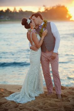 Beutiful and Intimate Destination Wedding in Hawaii ~ MickoPhoto | bellethemagazine.com