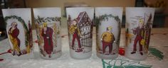 Vintage Dickens' Characters Frosted by FelicesFinds on Etsy