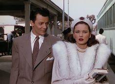 100 Years Of Fashion In Film  Cornel Wilde & Gene Tierney