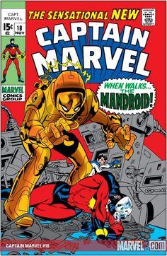 Captain Marvel #18  Marvel Comics Group  November 1969  $.15