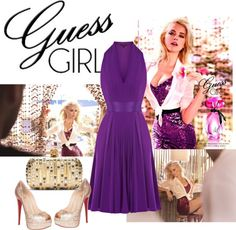 """Guess Girl"" by lempicka ❤ liked on Polyvore"