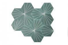marrakech design green tiles - Google Search