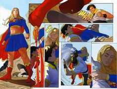 Karate Kid vs Supergirl