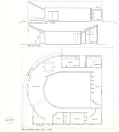 """""""The symbolic nature of the house as a place for coping with grief is made explicit through the introduction of the central U-shaped courtyard: an enclosed space denying the presence of the city and therefore allowing for a period of recovering."""""""