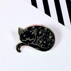Mystical Cat Enamel Pin | Punky Pins