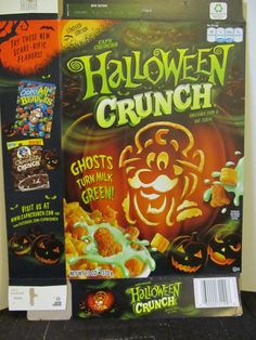 halloween capn crunch cereal 2011 2013 package capn - Captain Crunch Halloween