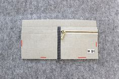 Simple Wallet Sewing Pattern. Step-by-Step DIY Tutorial with Photos. Простой бумажник. МК.