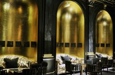 The Beaufort Bar combines a wow-factor interior with good service and top-quality (if pricey) drinks. Read our full review: http://www.timeout.com/london/bars-and-pubs/beaufort-bar-at-the-savoy
