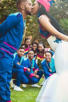 An Elegant Tswana & Pedi Wedding With Dresses by Rich Factory African Wedding Dress, Hijab Bride, Pakistani Wedding Dresses, Wedding Hijab, Sepedi Traditional Dresses, African Traditional Wedding, South African Weddings, Nigerian Weddings, Muslim Brides