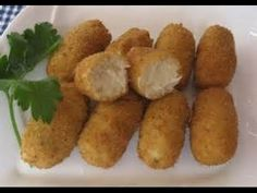 RICAS CROQUETAS DE ATUN Y ARROZ Sweet Potato, Cooking Recipes, Potatoes, Vegetables, Ethnic Recipes, Food, Food Cakes, Tasty, Homemade