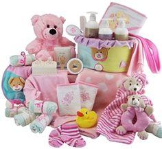 Newborn Essentials Baby Girl Hamper