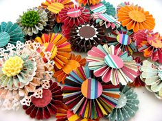 You can never have enough spare fan fold flowers.