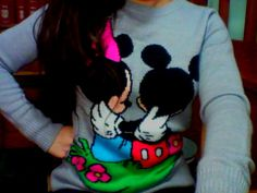 mickey and minnie mouse jumper