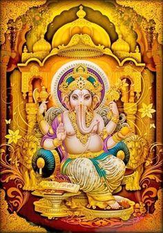 Shri Ganesh! Lord Ganesha! (via ebay: creationsunlimited522)
