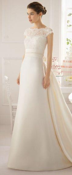 Aire Barcelona Modest wedding dress