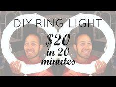 CHEAP DIY DIVA RING LIGHT - YouTube