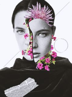 Digital fashion collages by Mouhcine Laghzal. - Digital fashion collages by Mouhcine Laghzal. Collage Foto, Collage Portrait, Face Collage, Creative Photography, Art Photography, Collage Design, Fashion Collage, Fashion Art, Foto Art