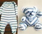 Teddy Bear Pattern From Baby Sleepers: memory bear bear sleeper onesie ...