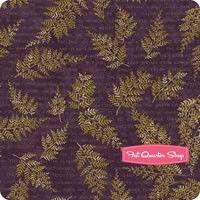 The Potting Shed Violet Poetic Fern Yardage SKU# 6622-16