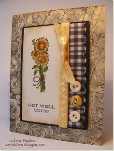 Sunflowers ~ Get Well Soon