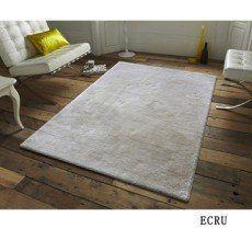 Tapis beige velours Tapis unie extra doux, l.60 x L.110 cm