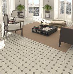Dorset Marron is a multi colour matt ceramic floor tile with mosaic effect design. Made by Vives. Part of the Barnet Series. Floor Patterns, Mosaic Patterns, Wall Patterns, Geometric Patterns, Types Of Floor Tiles, Types Of Flooring, Wall And Floor Tiles, Cheap Tiles, Victorian Tiles