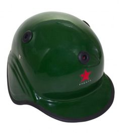 Baseball Helmet Fiber Glass Color Availability :Green Size : Standard  Type :Fiber Glass Pro